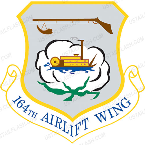 Memphis ANG 164th Airlift Wing Emblem