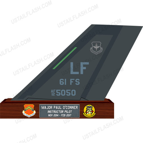 F35 Tail Flash Plaques