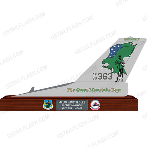 F16 Tail Flash Plaques