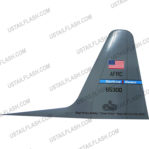 C130 Tail Flash Plaques