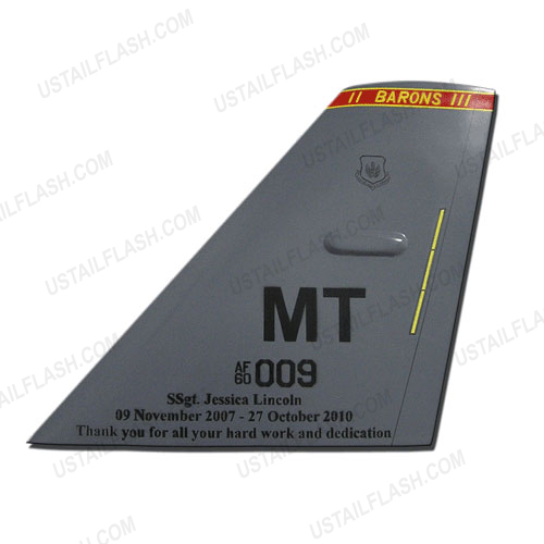 B52H Tail Flash Plaques